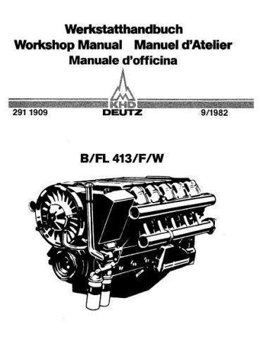 deutz 413 specs manuals and bolt tightening torques rh barringtondieselclub co za Deutz 1011 Engine Manual Model Deutz Engine Troubleshooting