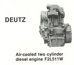 Deutz 511 engine essential specs