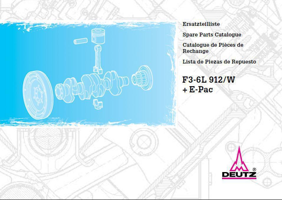 image Deutz 912 parts manual p1