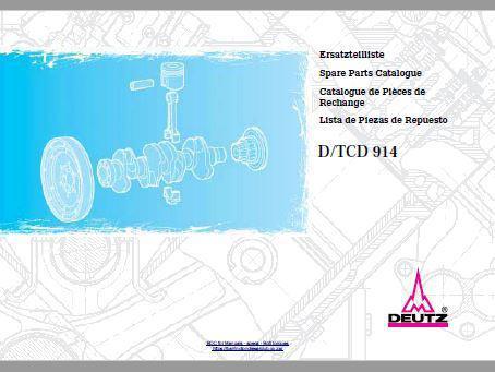 Deutz D914 parts manual p1