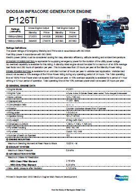 Doosan DE126TI spec sheet p1