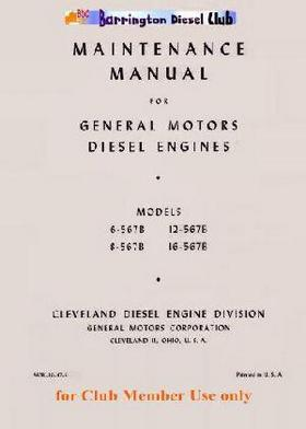 EMD 567 series workshop maintenance manual p1