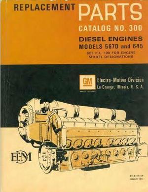 EMD 567 645 parts book p1