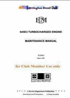 emd 645 specs manuals bolt torques rh barringtondieselclub co za