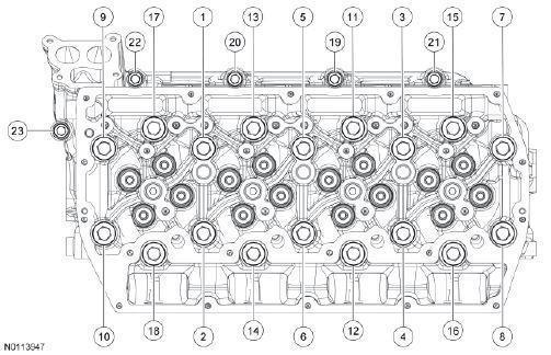 Ford F250-F550 6 7L engine specs, bolt torques, manuals