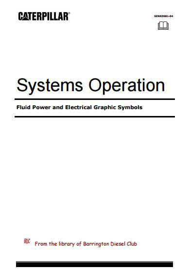 Caterpillar - Fluid Power and Electrical Symbols p1