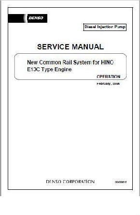 Hino E13C Fuel System Fundamentals p1
