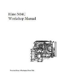 Hino N04 workshop manual-p1