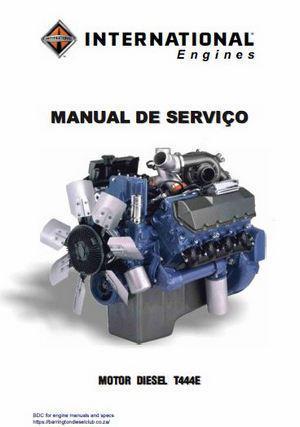International IH T444E specs, bolt torques and manuals on