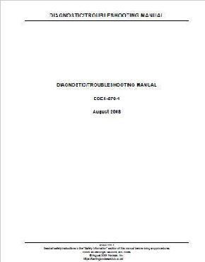 IH 466 Engine troubleshooting Manual 2008 p1