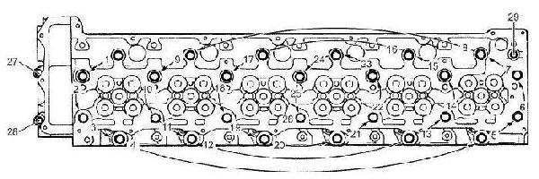 Isuzu 6WG1-TC specs, bolt torques and manuals