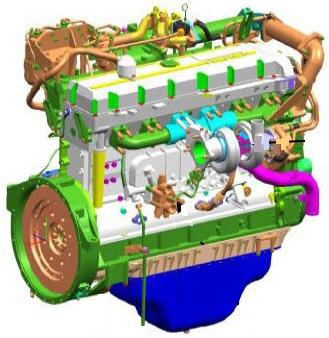 Isuzu 6WG1-TC engine manual image