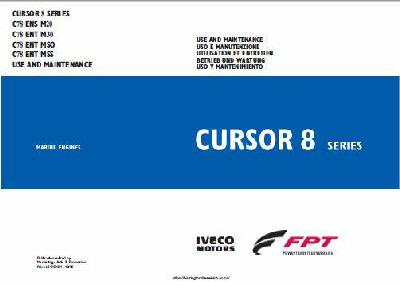 Iveco CURSOR 8 use and maintenance manual, p1