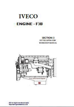 Iveco f3b workshop manual p1