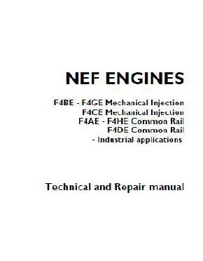 p1 of Iveco NEF workshop repair manual
