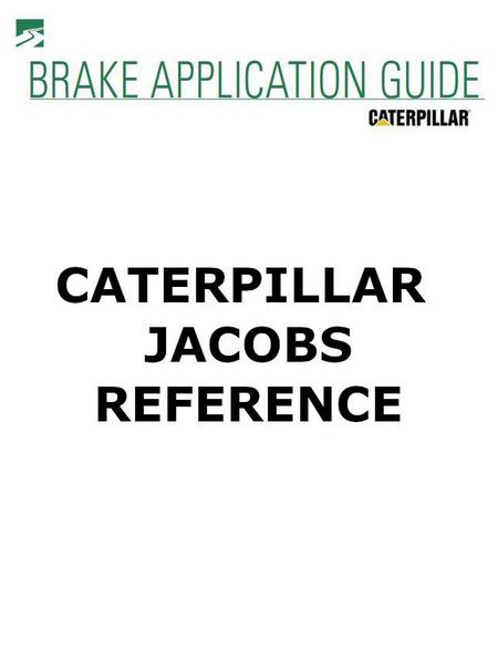 p1 of CAT-JACOBS X-REFERENCE