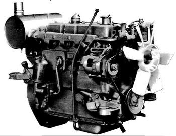 Komatsu 4D94-2 series engine