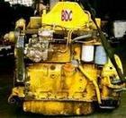 Komatsu 4D102 series engine
