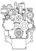 Komatsu 4D94 engine
