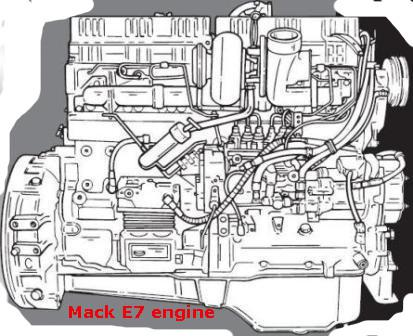 Mack E7 engine specs, bolt torques, manualsDiesel Engine manuals and specifications at Barrington Diesel Club