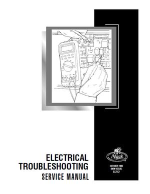 Mack Electrical service manual