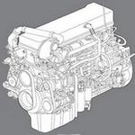 Mack MP8 Diesel engine manuals and specs
