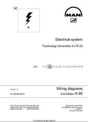 MAN TGA Electrics manual p1