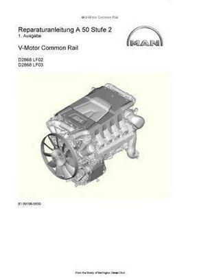 MAN D2868 Werkstatt-Handbuch p1