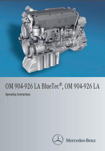 Mercedes om904 thru om926 operating instructions p1
