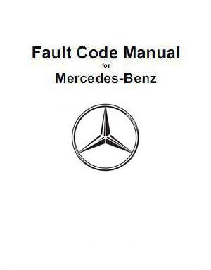 Fault Codes for Mercedes Benz