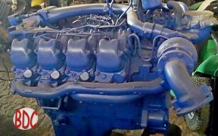 MTU Diesel engine manuals and specs