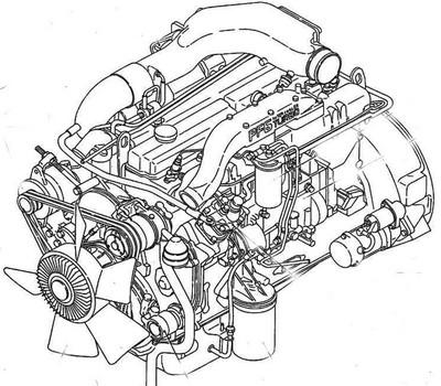 Nissan PF6 engine manuals and specs