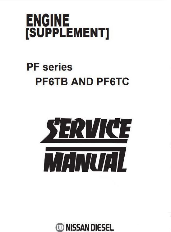 Nissan PF6T workshop manual, image p1
