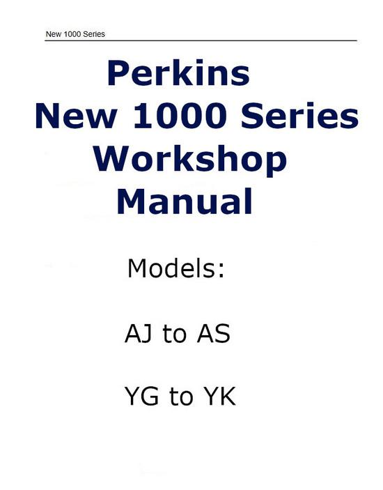 Perkins New 1000 PDF workshop manual p1