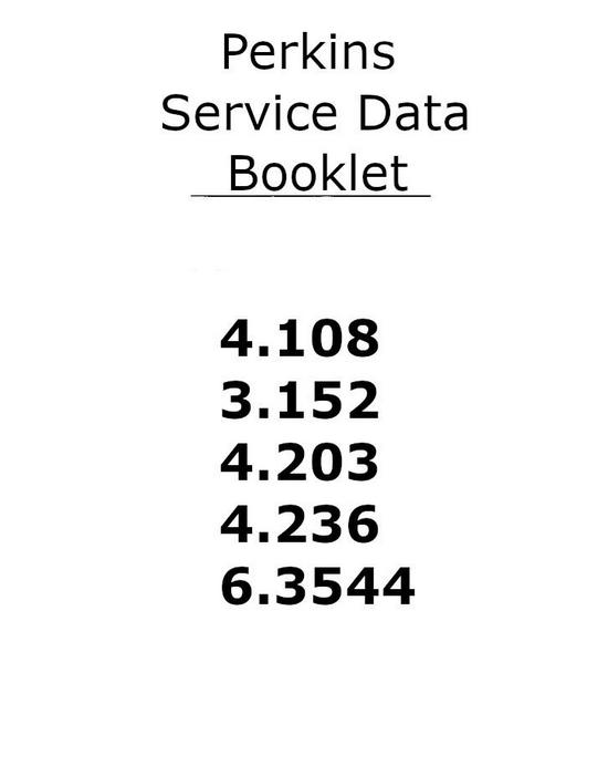 Perkins 4.236 Service Data p1