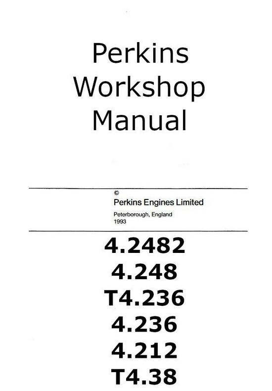 Perkins 4.236 Workshop Manual p1