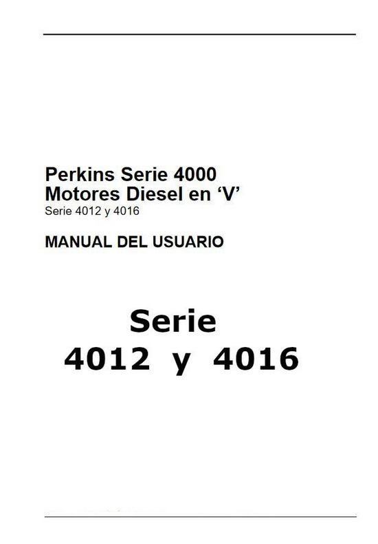 Perkins 4012 y 4016 PDF manual del usuario p1