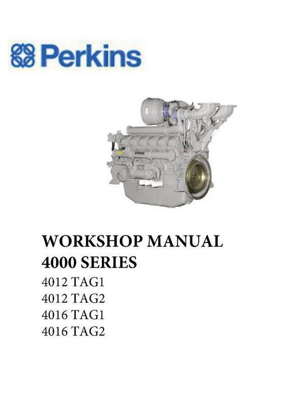 Perkins 4012, 4016 PDF workshop manual p1