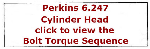 Perkins 6.247 cylinder head bolt tightening sequence