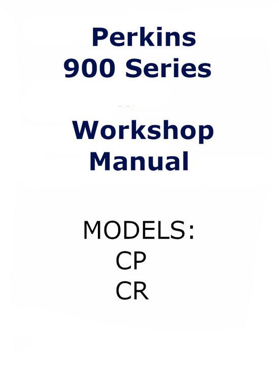 Perkins 900 engine workshop manual, p1