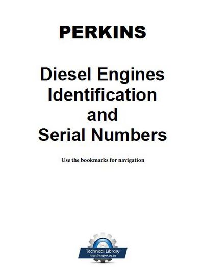 perkins indentification and serial numbers p1