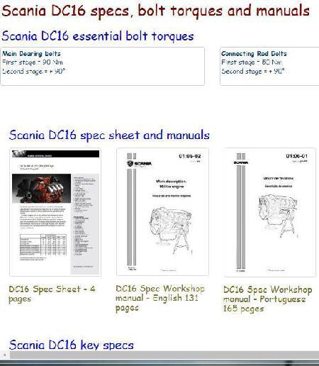 scania diesel engine specs bolt torques and manuals rh barringtondieselclub co za