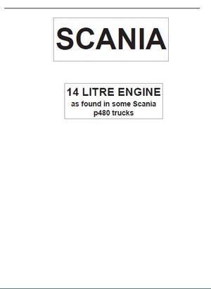 Scania 14 litre engine p1