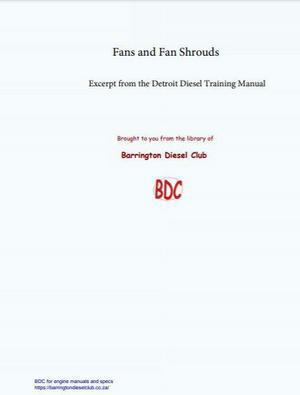 training manual for fan shrouds and fans