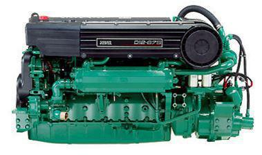 Volvo D12 675 hp marine engine