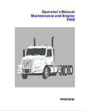 Volvo D12 operator and maintenance manual p1