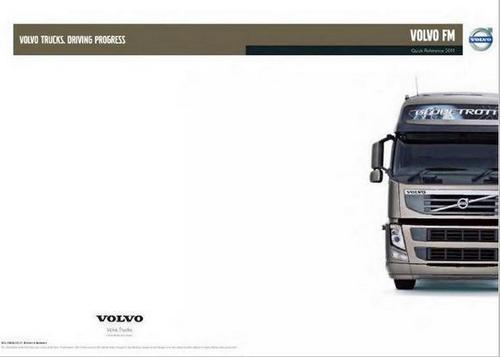 Volvo D11 and D13 spec sheet