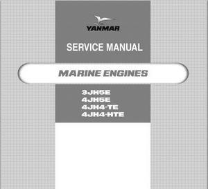 Yanmar 3JH and 4JH specs, bolt torques, repair manual